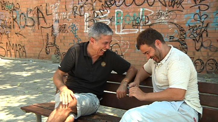 Albert Om i Jorge javier Vázquez. TV3