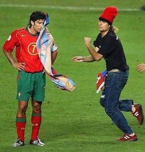 El Jimmy Jump amb aquell jugador de futbol... que es deia... Com es deia?
