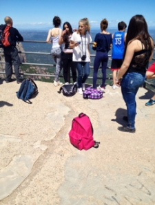 Els alumnes de 3r a Montserrat