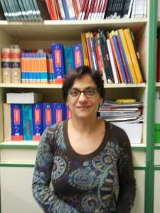 L'Alicia Pulido al departament