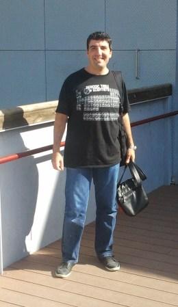 Raúl Baldomà a les portes del centre