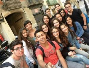 selfie_sortida_Parlament