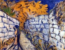 Lovers_between_garden_walls_Otto_Müller