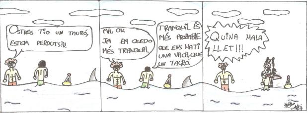 còmic Àlex Ortega i Yassir proj 1
